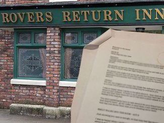 Coronation Street Script